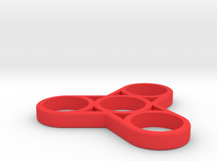 The Triplex - Fidget Spinner 3d printed