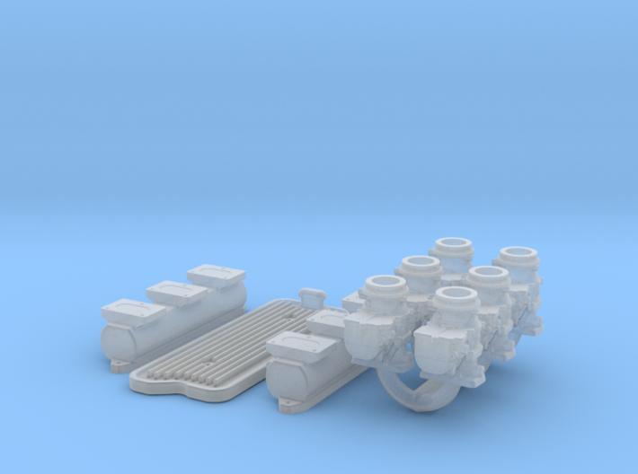 1/25 6X2 Buick Nailhead Intake System 3d printed