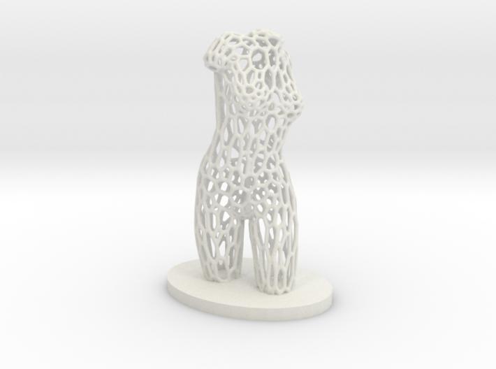 Dancer Torso 03 Voronoi Style 3d printed