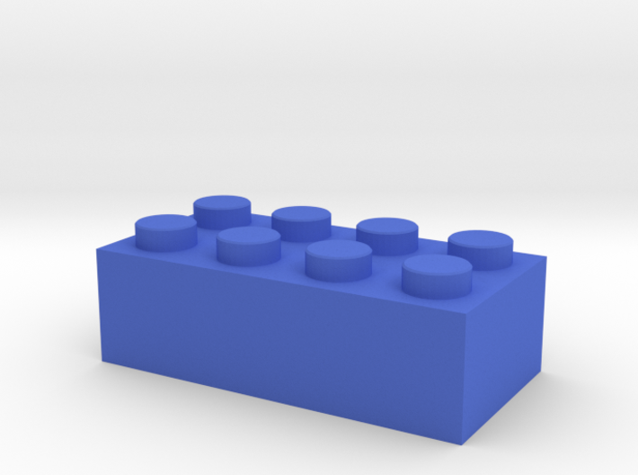 Toy Brick Standard size 2x4 3d printed