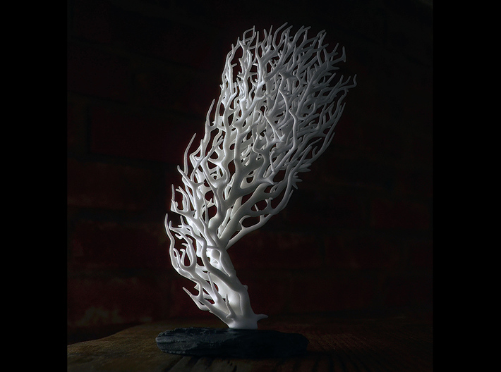 Coral I  (Minimum spanning tree) 3d printed