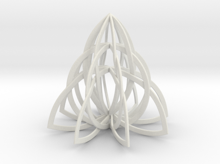 Celtic Knot Pyramid 3d printed