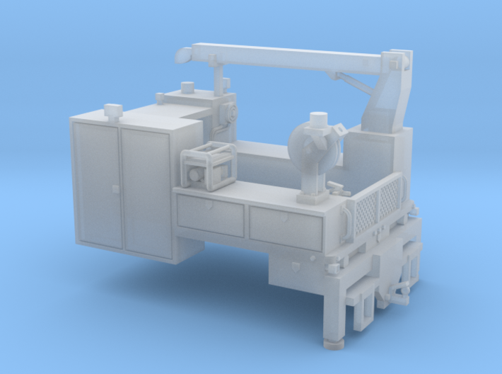 Signal Truck Maintenance Body 1-87 HO  3d printed