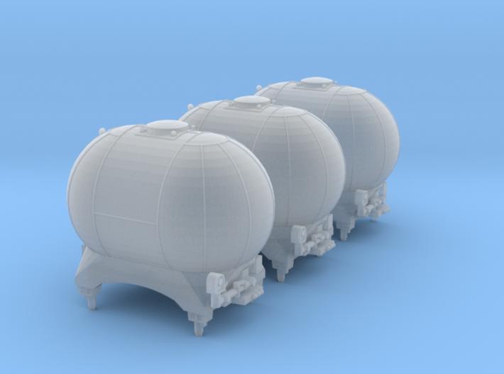 SET 3x Edzkr 571 Behälter (Roco) (N 1:160) 3d printed
