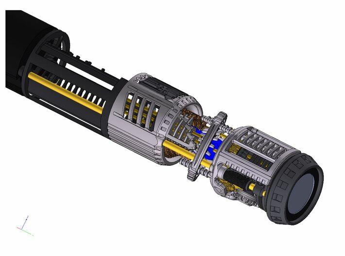 Graflex Master Chassis - Part 3/5 Var1 - Shell2 3d printed