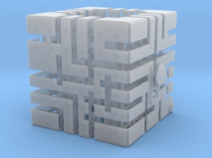 """Educational toys""  3D_Printer Maze No.5 3d printed"