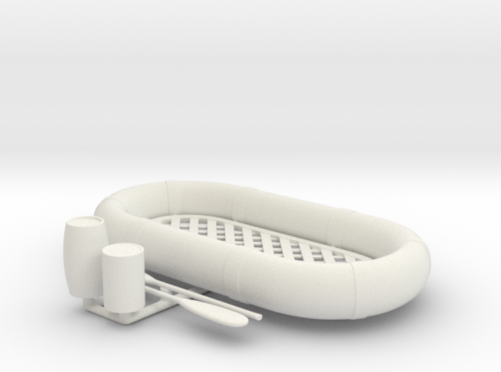 Best Cost 1/24 USN Life Raft Oval SET 3d printed
