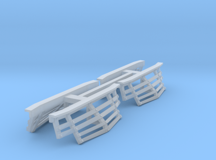 CA&E Plow- S Scale (1/64th) 3d printed
