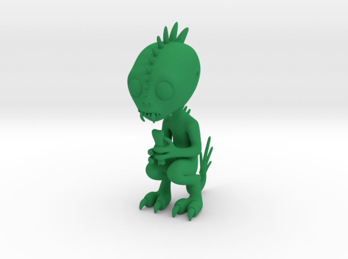 Chupacabra Figure 3d printed