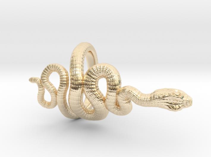 Snake Roll Stopper M 14 mm 3d printed