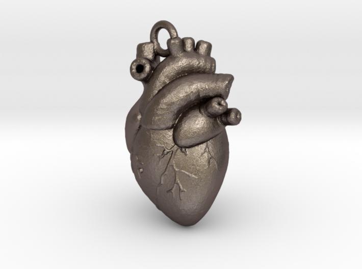 Anatomical human heart 3d printed