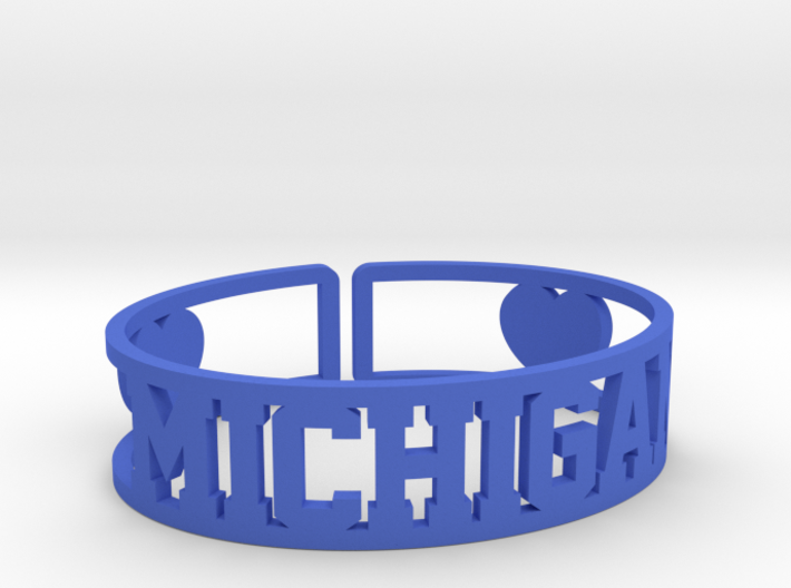 Michigan Cuff 3d printed