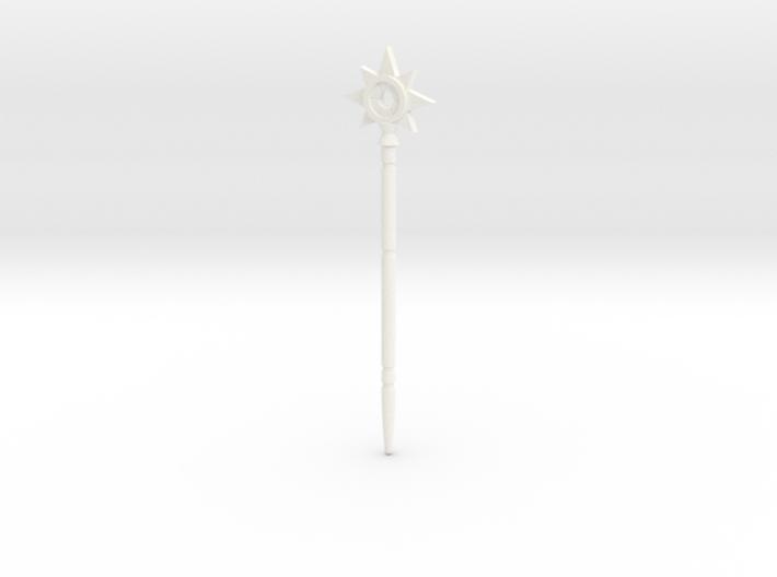 "Magic wand of Trollan ""star"" 3d printed"