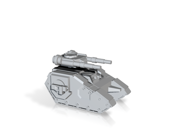 Super Soldier Space Tank 3d printed