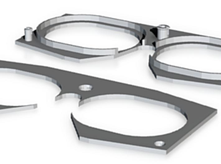 Optics Support 3d printed