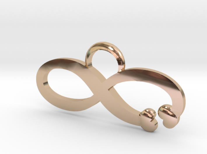 Love is Infinite 3d printed