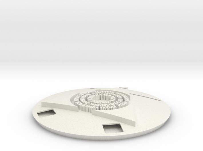 Commander Display - Azorius 3d printed