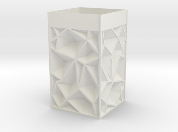 Bare Minimal Crinkle Lamp 3d printed