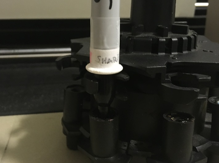 Sharpie Adapter for HP Pen Plotters 3d printed