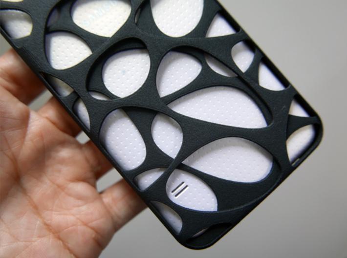 Samsung Galaxy S5 Case_Voronoi 3d printed