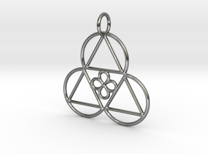 Reality Shift Pendant 3d printed