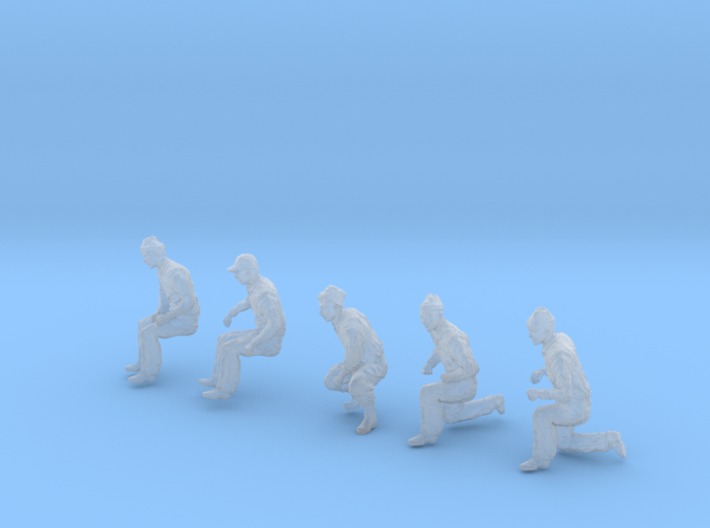 1-48 Merchant Navy Crew Set 1-6 3d printed