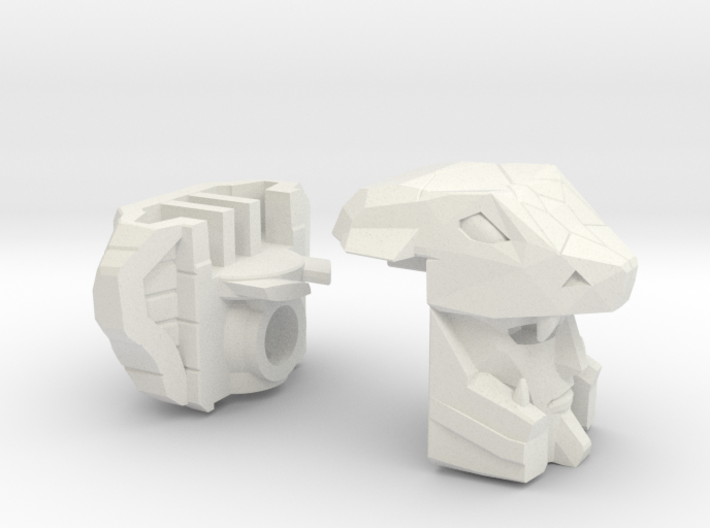 Naja Gunship Head Voyager 3d printed