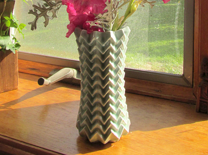 Mountain Valley Vase 3d printed
