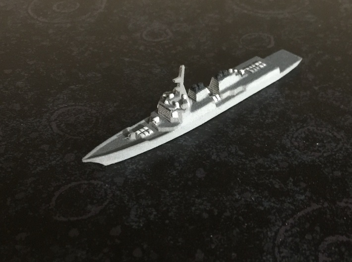 Sejong the Great-class destroyer, 1/1800 3d printed Painted Sample