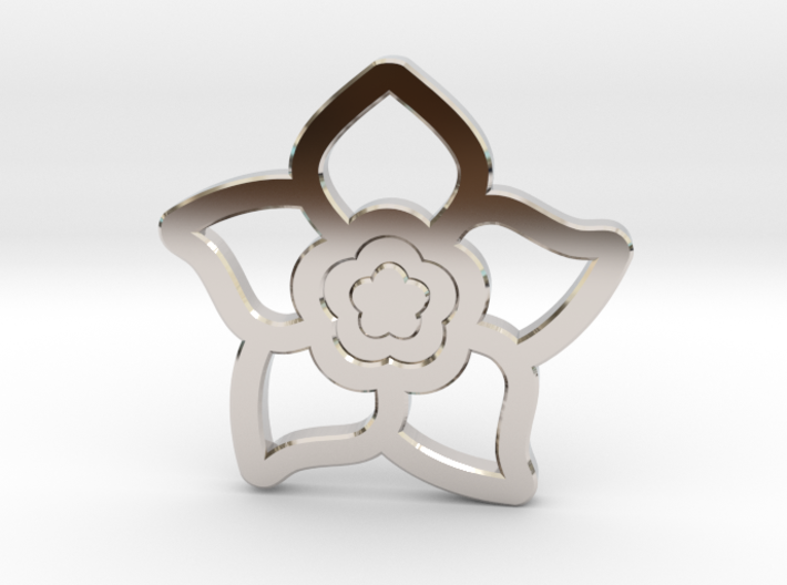 Forget-Me-Not 3d printed