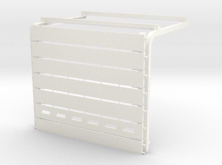 1/64 Overhead Door 27.5w x 22h (5.2w X 4.125h) Kit 3d printed