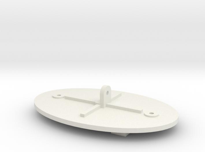 Maxbotix XL-MaxSonar-EZ Sensor Back Plate 3d printed
