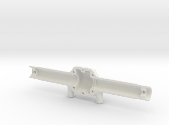 SCX10 axle case w Traxxas 1/16 Diff (front half) 3d printed