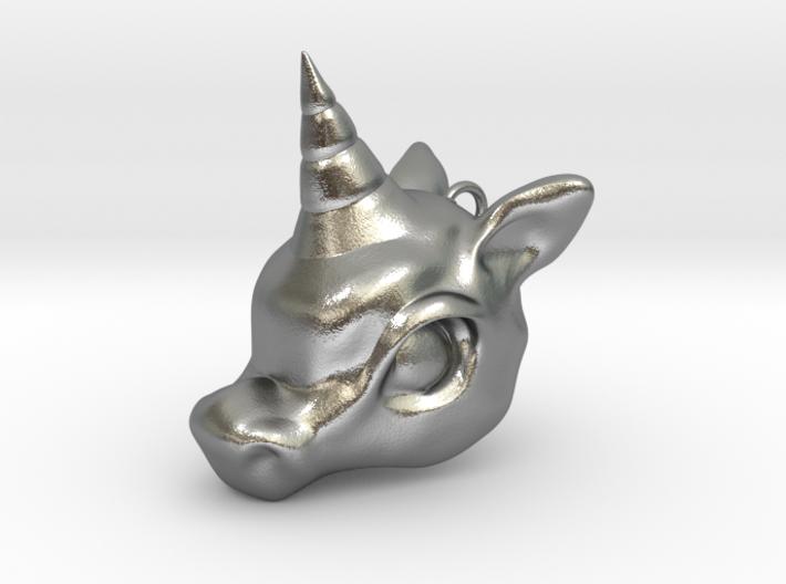 Unicorn Head 3d printed