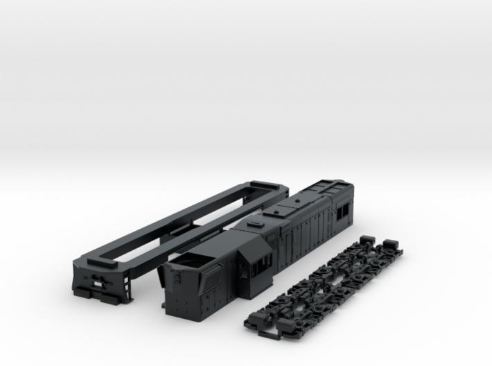 GR12 FCAB Version HO scale 3d printed