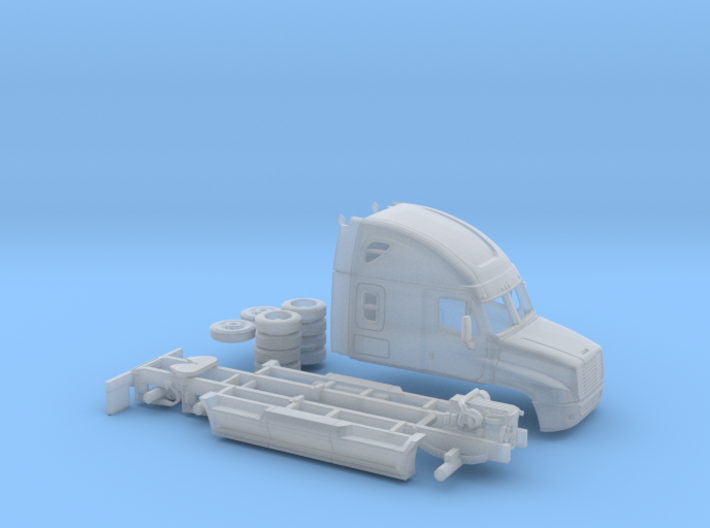 1/87 Freightliner Cascadia 3d printed