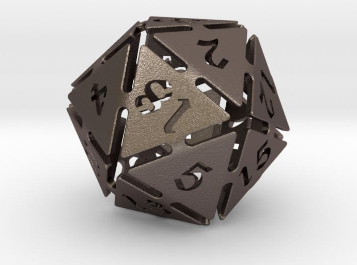 Big die 20 / d20 32mm / dice set 3d printed