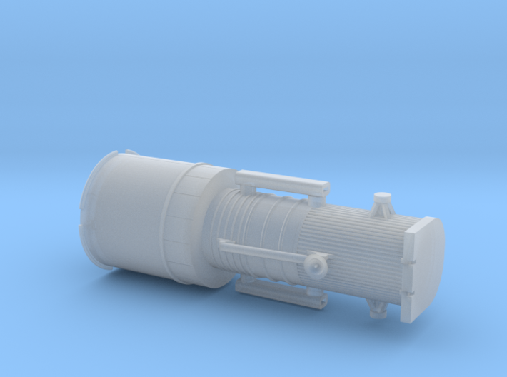 012F Hubble Stowed - 1/288 3d printed