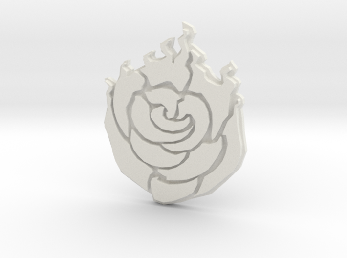 Rose Buckle 3d printed