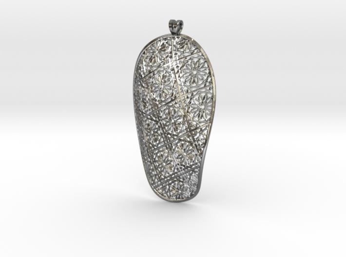 Mashrabiya pendant 3d printed