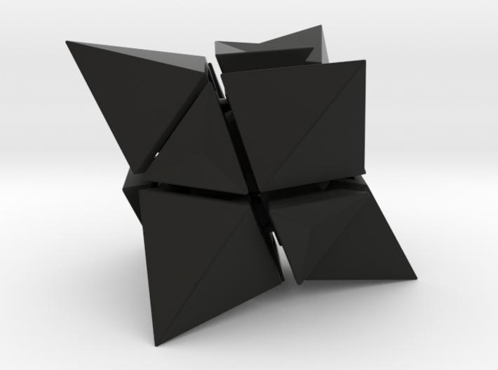 Skewb Octahedron inward  3d printed