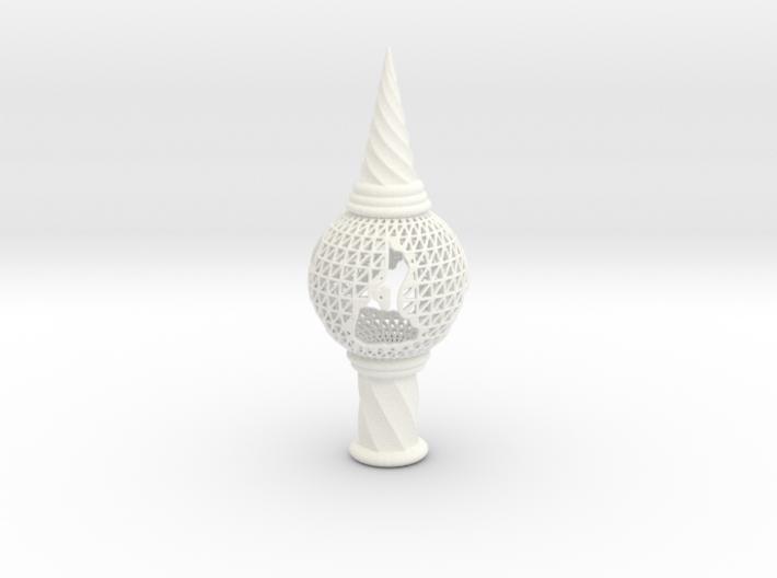 3D Printed Block Island Tree Top 3d printed