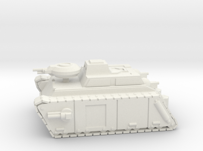 Armoured Frog 3d printed