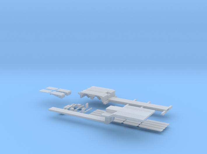 Tieflader ähnlich FVG 2-Achs 3d printed