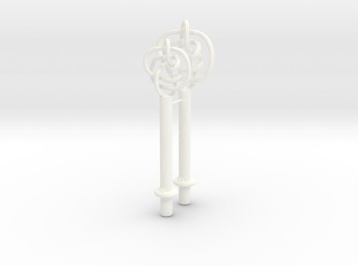 Perko Knot Tests 3d printed