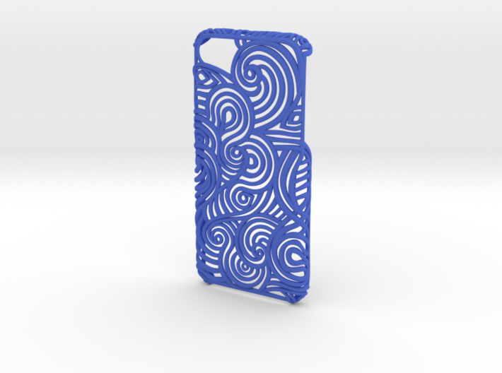 Flow Case for Iphone 6 and 7  3d printed