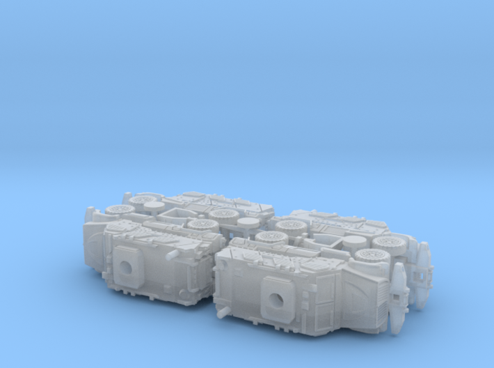International MaxxPro MRAP Vehicle 1/160 N-Scale 3d printed