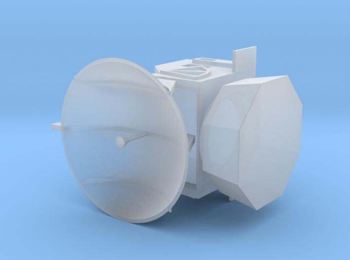 1/144 Scale German IBU Radar 3d printed