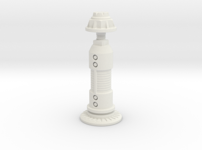 Steampunk King Chess Piece 3d printed