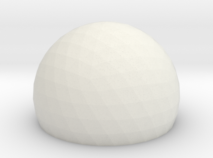 Geodesic Dome Sphere v6 21cm 3d printed